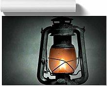 Big Box Art Poster Print Wall Art Kerosene Lamp |