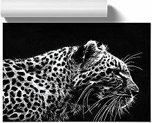 Big Box Art Poster Print Wall Art Leopard Tiger |