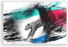 Big Box Art Poster Print Wall Art Leopard V2 |