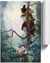 Big Box Art Poster Print Wall Art N. C. Wyeth