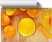 Big Box Art Poster Print Wall Art Orange Juice |