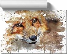 Big Box Art Poster Print Wall Art Red Fox (5) V3 |