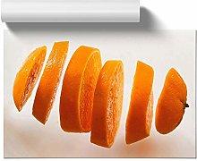 Big Box Art Poster Print Wall Art Sliced Orange |