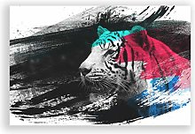 Big Box Art Poster Print Wall Art The White Tiger