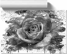 Big Box Art Poster Print Wall Art White Rose