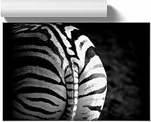 Big Box Art Poster Print Wall Art Zebra Rear |