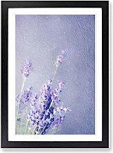 Big Box Art Pretty Purple Lavender Framed Wall Art