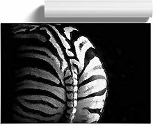 Big Box Art Rear of a Zebra, Wall Art Poster