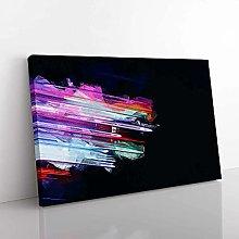 Big Box Art Speeding Through in Abstract Canvas