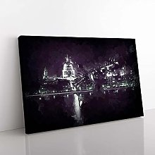Big Box Art St Pauls Cathedral in London in