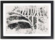 Big Box Art The Stripes of The Zebra Watercolour