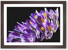 Big Box Art Wild Purple Orchid Flowers Painting