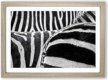 Big Box Art Zebra Stripes (1) Framed Wall Art