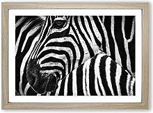 Big Box Art Zebra Stripes (2) Framed Wall Art