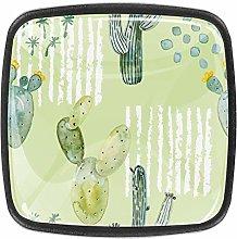 Big Cactus [4 PCS]Decorative Cabinet Wardrobe