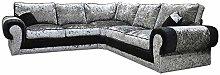 Big Corner Sofa Suite Tango Armchair Crushed
