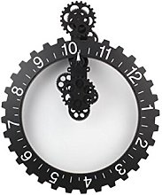 Big Hour Wheel Clock Wall Clock-Large