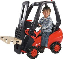 Big Linde Pedal Forklift Truck Ride-on