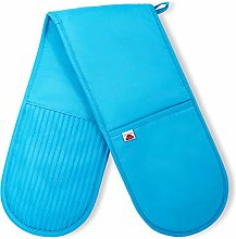 Big Red House Double Oven Gloves – Terry Cloth