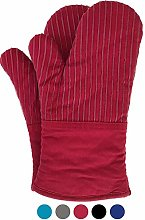 Big Red House Oven Gloves, With The Heat