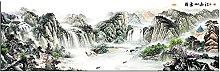Big Size Canvas Print Wall Art Scenery Chinese