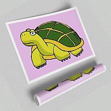 Big Turtle Paper Print East Urban Home