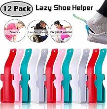 Bigbigjk 12 Pack Lazy Shoe Helper, Shoe Lifting
