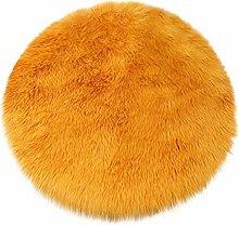 BIGBOBA Orange Color Soft Area Rugs Living Room