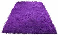BIGBOBA Pink Purple Soft Area Rugs Living Room