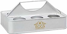 BigBuy Cooking S1124454 Egg Cup White,Plastic