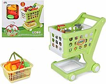 BigBuy Fun Shopping Cart Green (42 Pcs),