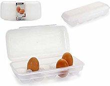BigBuy Home S3601391 Plastic Egg Cup, Transparent,