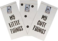 BigBuy Home Small Paper Bag Oh My Home (15 x 30 x