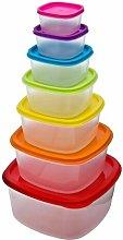Biggerstaff Plastic Container Food Storage Set