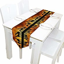 BIGJOKE 13x70 inches Long Table Runner African