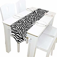 BIGJOKE 13x70 inches Long Table Runner Animal