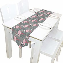 BIGJOKE 13x70 inches Long Table Runner Tropical