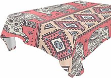 BIGJOKE Rectangle Tablecloths 60 x 120 Inch