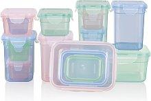 Bigley 15 Container Food Storage Set Rebrilliant