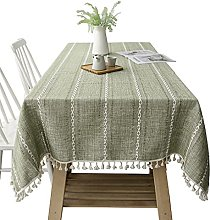 Bigood Chic Hollow Jacquard Cotton Line Dinning