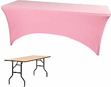 Bigood Stretch Fitted Rectangle Table Cover
