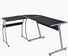 BIGTO L-shaped Desk Computer Desk Chipboard with