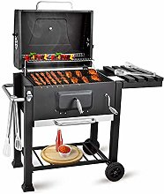bigzzia BBQ Grill Charcoal Barbecue Grill with