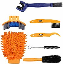 Bike Cleaning Tool Set 7 piece bicycle Clean Brush