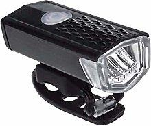 Bike Light Set, USB Rechargeable Waterproof Front