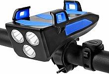 Bike Lights, USB Rechargeable Waterproof Super