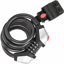 Bike Lock Cable, Password Cable Lock Portable Safe