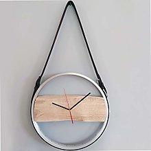 Bikes Bazaar Clock, wood, Silver, One size