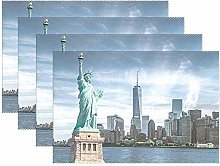 Bill Arnold New York Statue Of Liberty Placemats