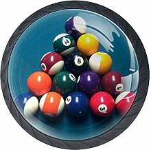 Billiard Tables Snooker Balls Cabinet Door Knobs